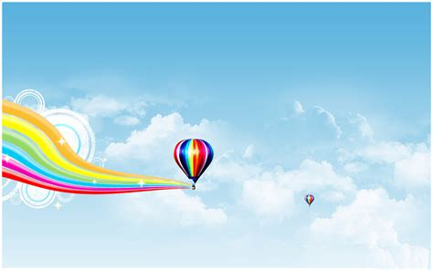 air powerpoint template air balloon ppt powerpoint template 171 ppt backgrounds