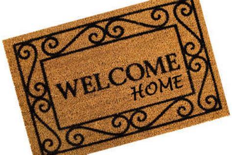 Welcome Home Doormat Glenn Advantage