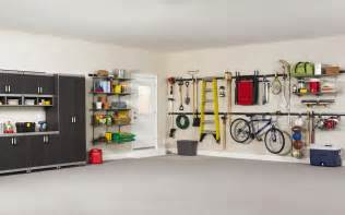 Garage Organization Layout Ideas Rubbermaid Fasttrack Garage Organization System