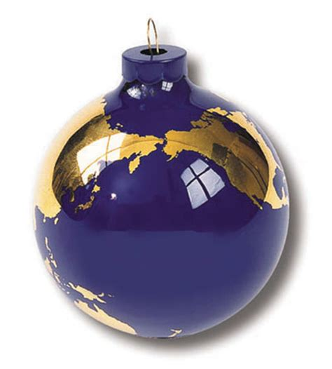 handmade glass world globe ornaments free shipping