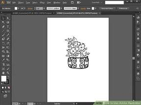 Plan Drawing Software how to use adobe illustrator 11 steps with pictures