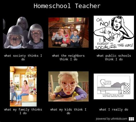 Home School Meme - i could never homeschool my kid s full hands full hearts