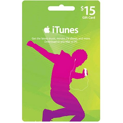 Itunes Gift Card 15 - 15 apple itunes us store gift card for ipod iphone