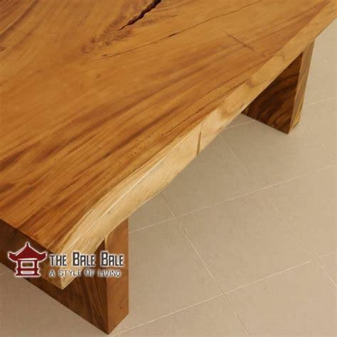 Meja Makan Kayu Utuh meja makan minimalis kayu utuh mmj004 mebel jati
