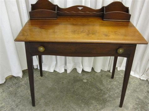 Small Antique Desks For Sale Antique Small Walnut Writing Desk W Paper Slots For Sale Antiques Classifieds