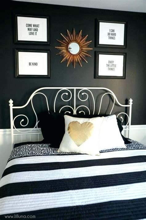 black and white decor bedroom black gold and white bedroom regarding black a 52842