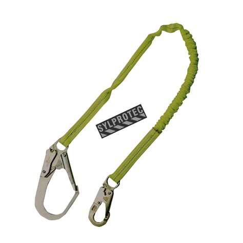 Lanyard Single Big Hook Lanyard Absorber Lp 0117 lanyard with an energy absorbing inner 1 in
