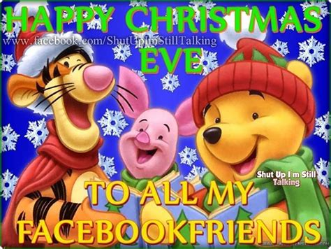 happy christmas eve    facebook friends pictures   images  facebook tumblr