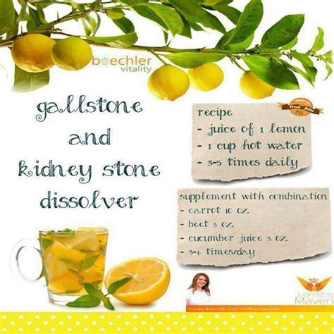 gallstones and kidney dissolver foods