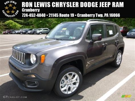 granite jeep 2016 granite metallic jeep renegade latitude 4x4