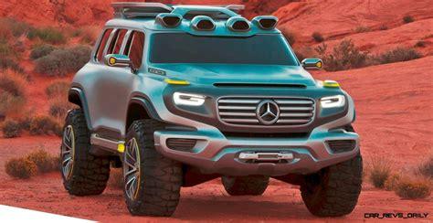 concept flashback  mercedes benz ener  force  potential  paris dakar hybrid car