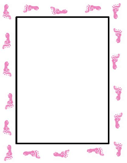 baby shower borders clip baby shower border paper cliparts co