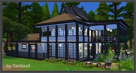 asian homes asian house at tanitas8 sims 187 sims 4 updates