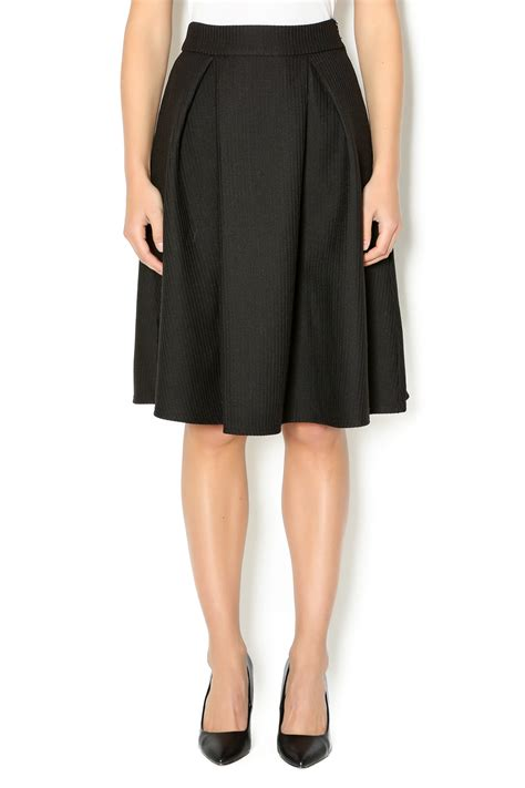 nu new york flared knee length skirt from union square