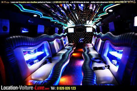 interieur limousine hummer H2