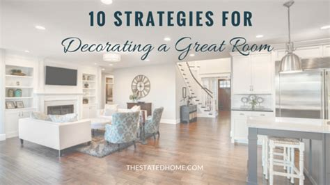 Decorating A Great Room