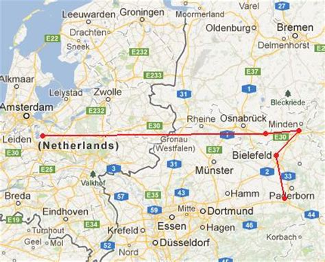paderborn map trip report paderborn lippstadt to hilversum 25 april 2013