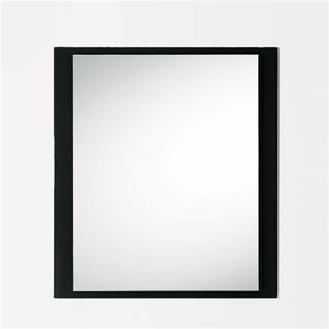 cornice on line line q specchio con cornice in vetro colorato 80 x 90