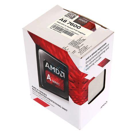 Amd A8 7600 3 1ghz 3 8ghz Max Turbo cpu amd a8 7600 black edition strek