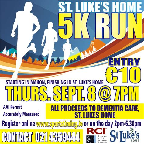 st luke s home memorial 5k run northridge education centre