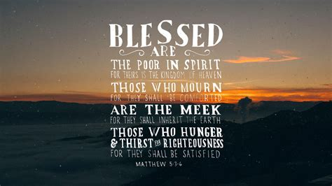 matthew 5 3 6 the verses project