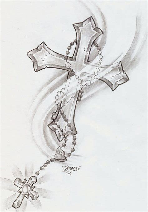 cross love tattoo cross designs i this might get it one