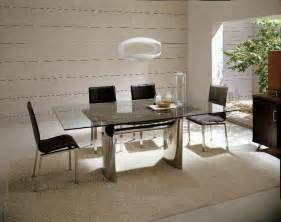 italian design dining table and chairs room decorating