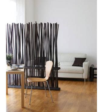 bamboo pole room divider home dzine home decor modern ideas for room divider