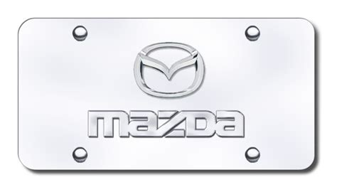 Vanity Plate Names by Mazda Logo And Name License Plates Vanity Logo Tags
