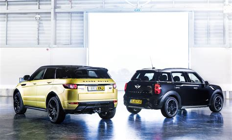 mini land rover icon buyer new mini countryman vs used range rover evoque