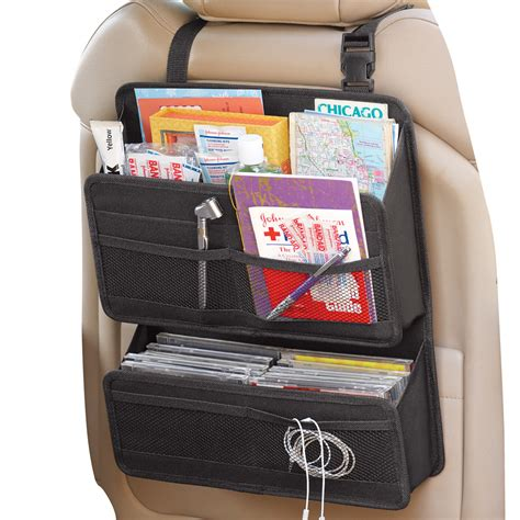 dual back seat car organizer by collections etc