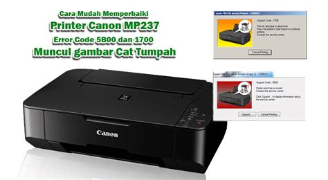 reset printer canon mp237 error 1401 cara mudah memperbaiki printer canon mp237 error 5b00 dan