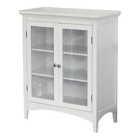 amazon com elegant home fashions madison avenue madison avenue 2 door floor cabinet white elegant home