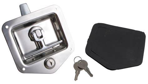 Trailer Door Latch by T Handle Locking Stainless Steel Flush Door Latch Redline