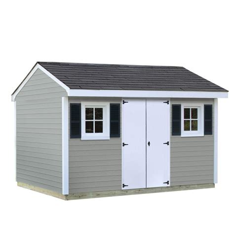 shed installation sheds usa installed classic 8 ft x 12 ft vinyl shed