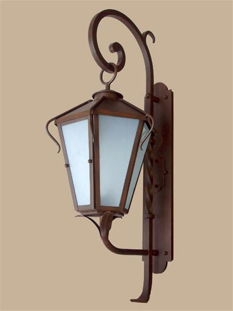 exterior fixtures mediterranean outdoor lighting santa barbara by hans duus blacksmith inc