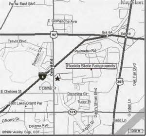 Florida State Fairgrounds Map by Youth Programs Fsf Directions Department Of Animal
