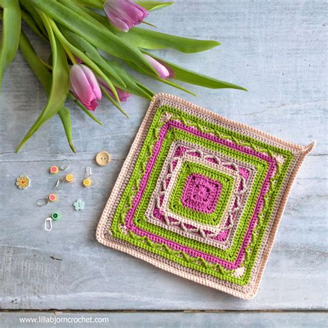 crochet kaleidoscope shifting shapes and shades across 100 motifs books crochet potholders in small free pattern