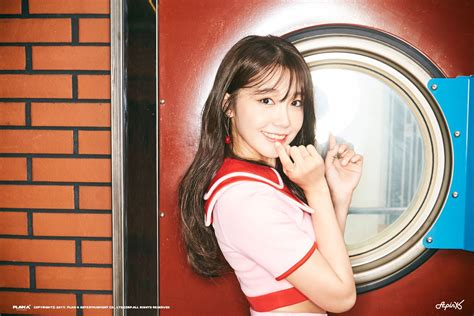 Apink Pink Up 6th Mini Album update apink s jung eun ji is energetic in new motion teaser for quot pink up quot soompi
