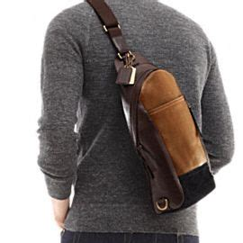 Tas Selempang Pria Sling Bag Backpack Coach Authentic Original coach mens bleecker leather colorblock convertible sling pack bags and wallet