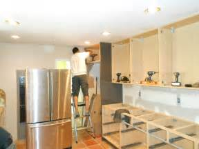 kitchen cabinets installed setting kitchen cabinets kitchen cabinet ideas