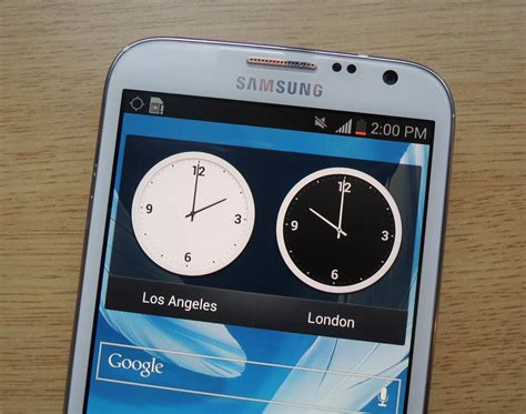 Samsung Note 2 Second how to add a second status bar clock on your samsung