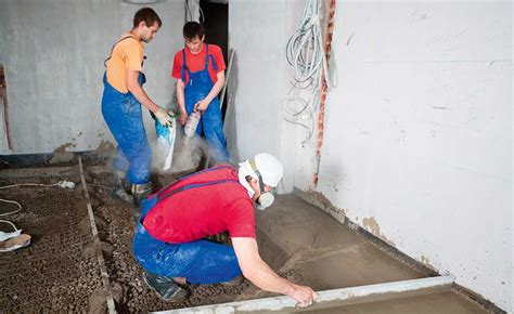 How To Lay Out Kitchen how to pour a concrete floor homebuilding amp renovating