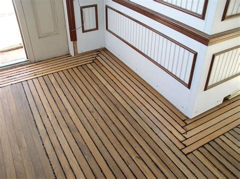 For Floors by Teak Flooring Ancora Yacht Service