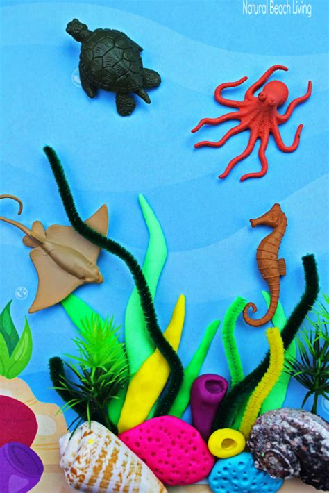 coral reef activities  preschoolers  kindergarten
