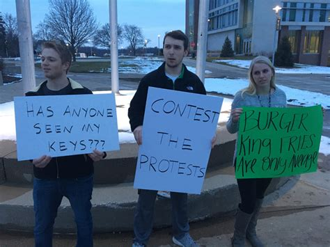 darkest hour kalamazoo we sat down with a wmu student actively protesting protests