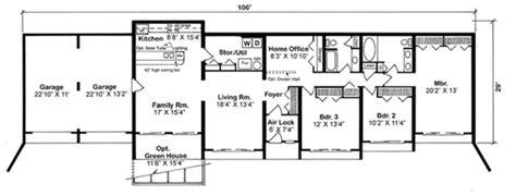modern style house plan 3 beds 2 00 baths 2139 sq ft