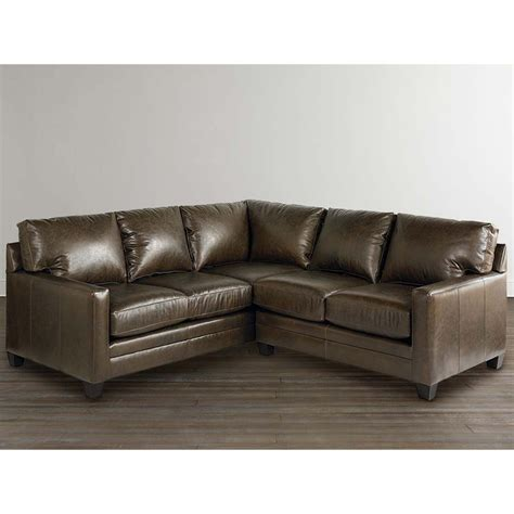 Bassett Sectional Sofa Bassett 3105 Lsectls Ladson Small L Shaped Sectional Discount Furniture At Hickory Park