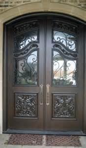 Iron And Glass Front Doors Home Entrance Door Metal Entrance Doors