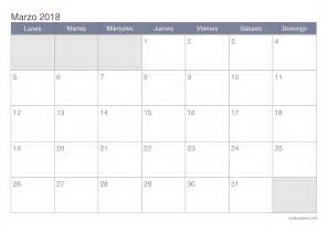 Calendario Lunar Marzo 2018 Calendario Marzo 2018 Para Imprimir Icalendario Net